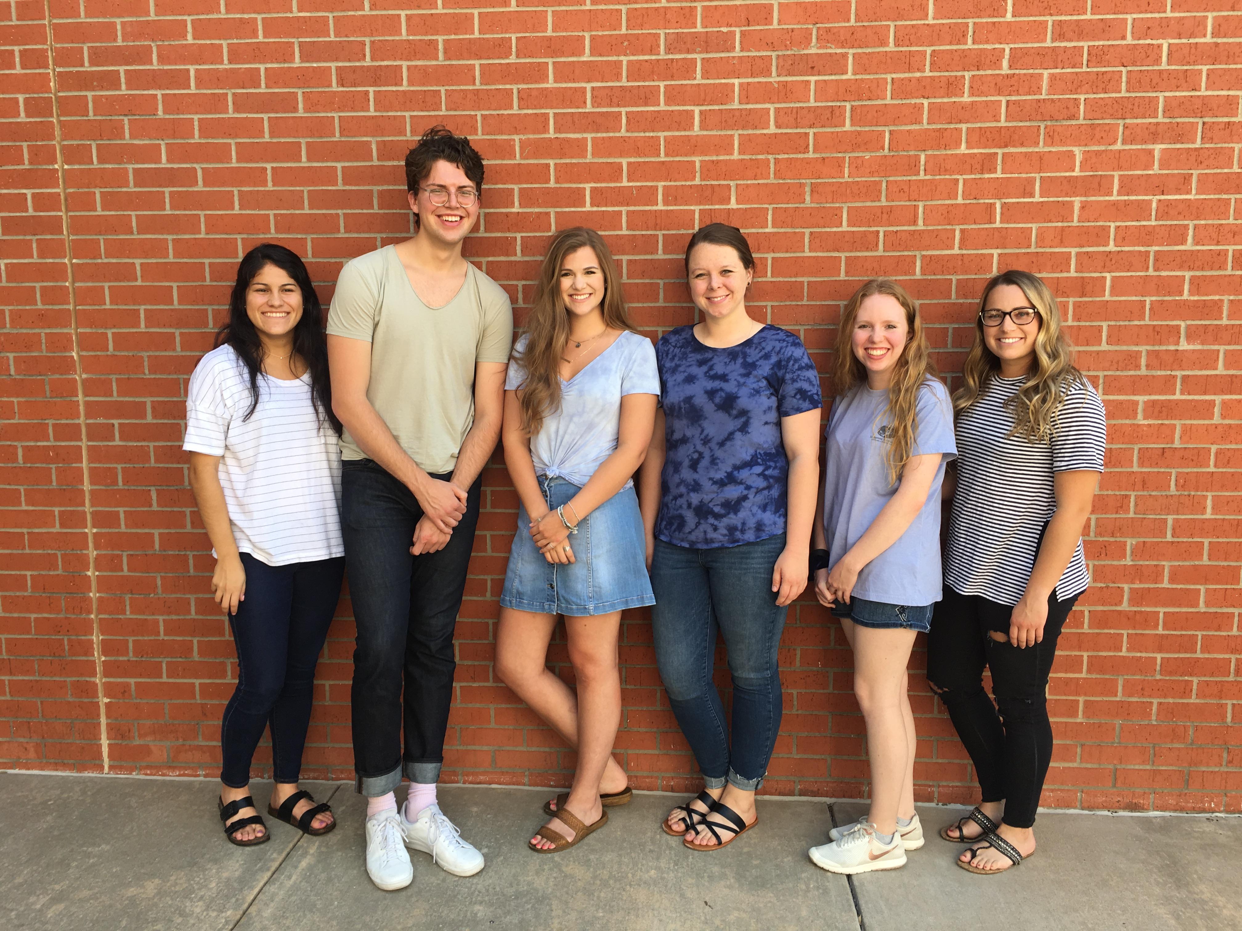 2018 Undergraduate Summer Interns